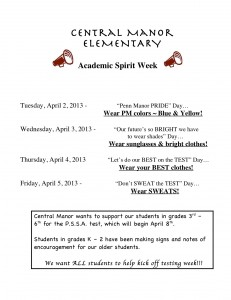 CM Academic Spirit Week
