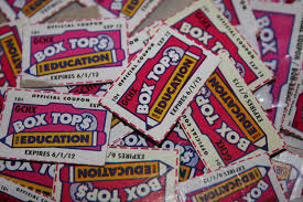 picture of box tops for education